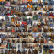 100 Strangers 100 Days Collage